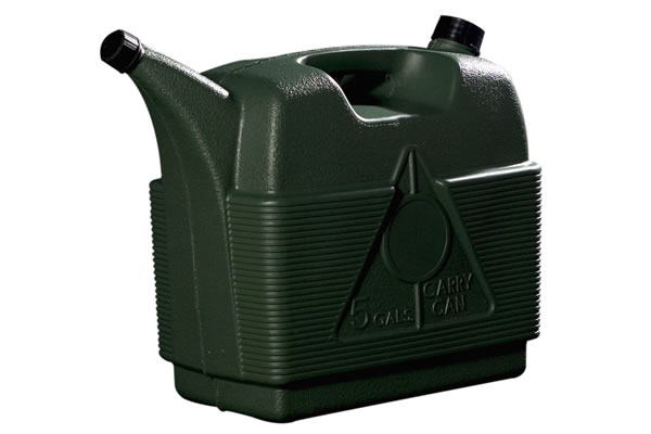 Carry Can de 5 Galones Verde en Decocar.com.ve